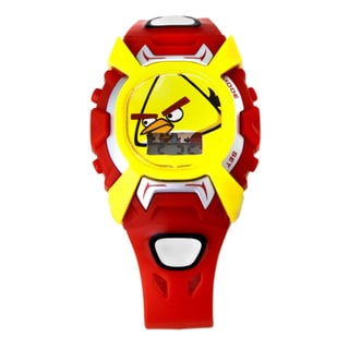 Angry Birds Children's Interchangeable Snap-On Cover Watch
