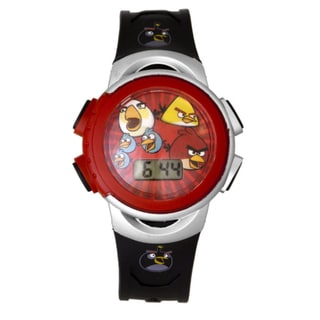 Angry Birds Children's Red 'Pig-Poppin Action' Watch