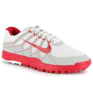 Nike Junior's Range Red/ White Golf Shoes