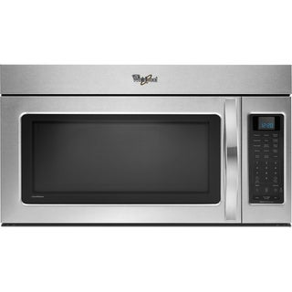 Whirlpool Stainless Steel Sensor Cooking Over-the-Range Microwave