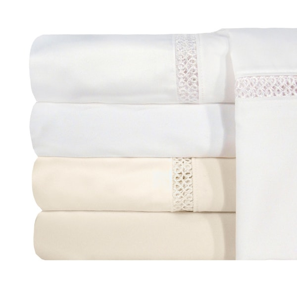 Grand Luxe Egyptian Cotton Payton 1200 Thread Count Sheet Separates (As Is Item)