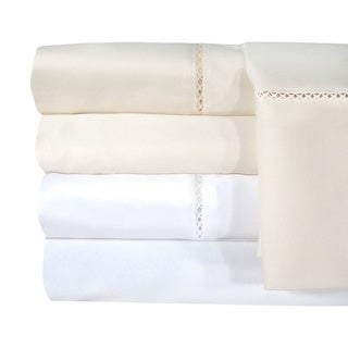 Grand Luxe Egyptian Cotton Bellisimo 1200 Thread Count Sheet Separates or Pillowcase Pair Separates