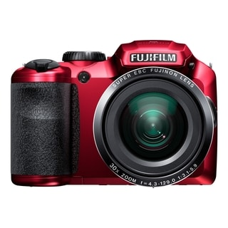 Fujifilm FinePix S6800 16.2 Megapixel Compact Camera - Red