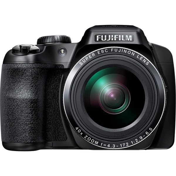 Fujifilm FinePix S8200 16.2 Megapixel Bridge Camera - Black
