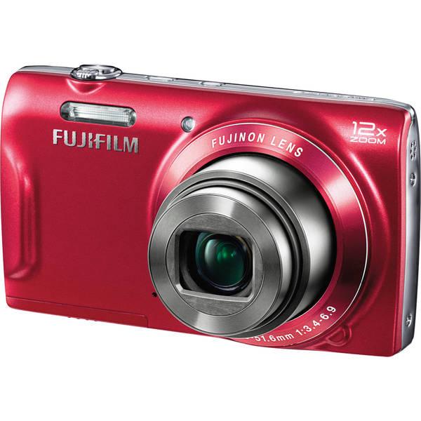 Fujifilm FinePix T550 16 Megapixel Compact Camera - Red