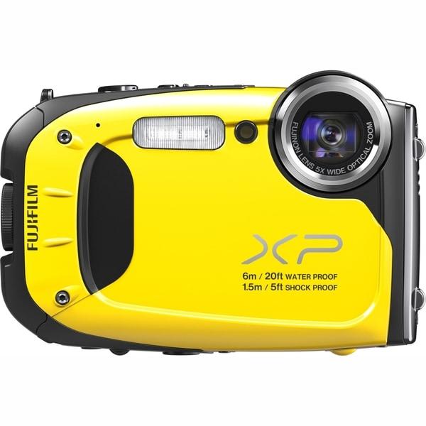 Fujifilm FinePix XP60 16.4 Megapixel Compact Camera - Yellow