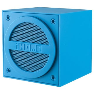 iHome iBT16 Bluetooth Mini Cube Blue
