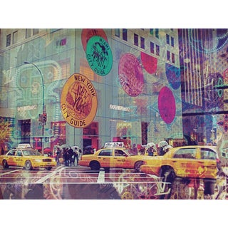 Oliver Gal 'NYC Glam' Canvas Art Print