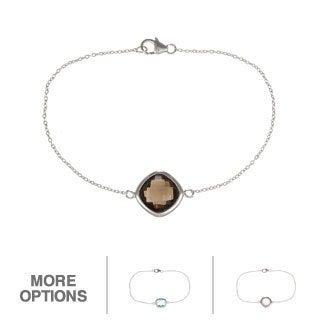 La Preciosa Sterling Silver Gemstone Bracelet