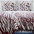 City Scene Spring Arbor 3-piece Duvet Cover Set