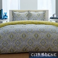 City Scene Milan Reversible 3-piece Comforter Set