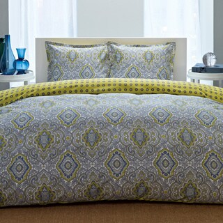 City Scene Milan Reversible 3-piece Comforter Set