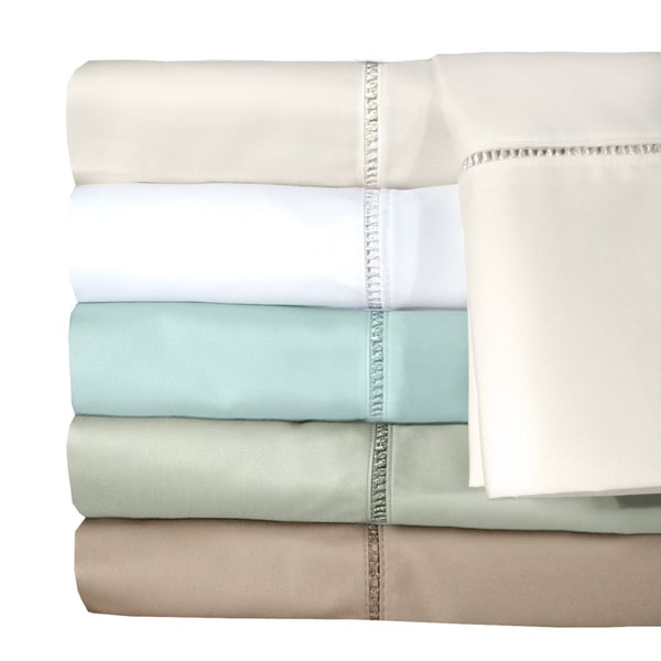 Grand Luxe Egyptian Cotton Linford 300 tc Deep Pocket Sheet or Pillowcase Pair Separates
