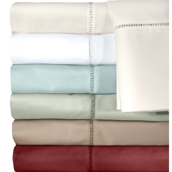 Grand Luxe Cotton Linford 500 Thread Count Sheet Set