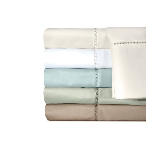 Grand Luxe Egyptian Cotton Linford 500 Thread Count Queen Size Fitted Sheet in White (As Is Item)