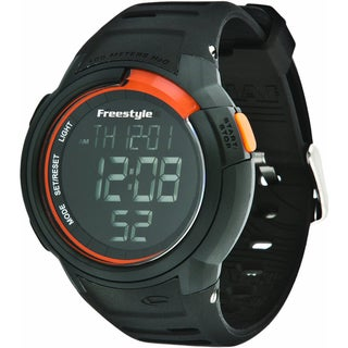Freestyle Men's FS85012 Black Plastic Digital Dial Quartz Watch