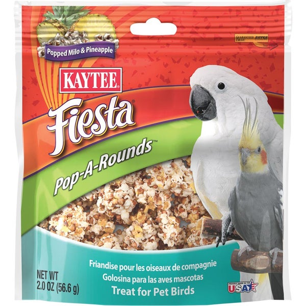 Kaytee Products Fiesta Pop A Rounds Pet Treats