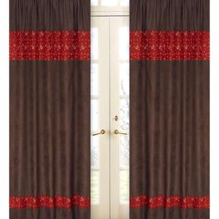 Wild West Bandana 84-inch Curtain Panel Pair