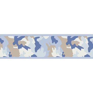 Sweet JoJo Designs Camo Army Camouflage Wall Border