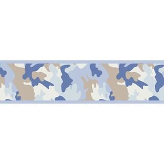 Sweet JoJo Designs Camo Army Camouflage Wall Border Overstock
