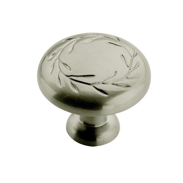 Amerock Inspirations Decorative Satin Nickel Knob (Pack of 5)
