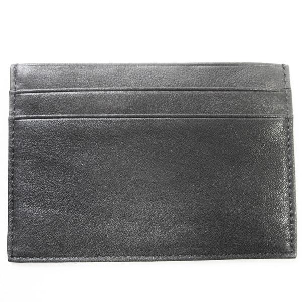 Tandi Men's Slim Black Napa Leather Wallet