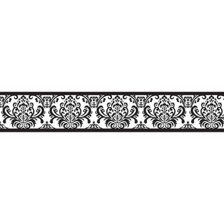 Sweet JoJo Designs Black and White Isabella Wall Border