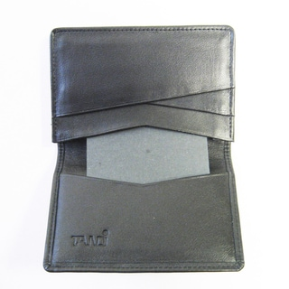 Tandi Men's Black Napa Leather Wallet