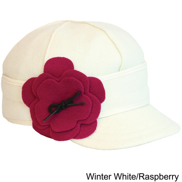 Stormy Kromer Women's Petal Pusher Floral Applique Cap