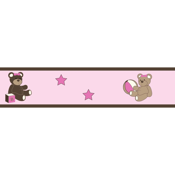Sweet JoJo Designs Teddy Bear Wall Border