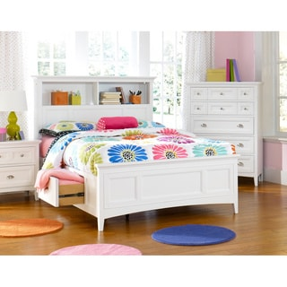 Magnussen 'Kenley' Twin-size White Bookcase Bed