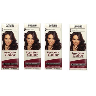 CoSaMo Love Your Color 765 Medium Brown Hair Color (Pack of 4)