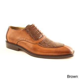 Island Footwear Men's 'Nari' Crocodile Embossed Loafer