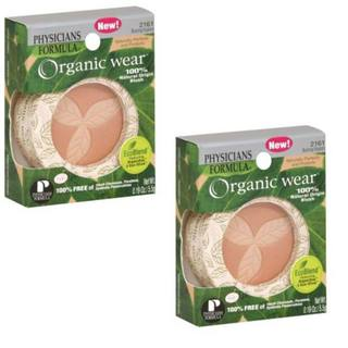Physicians Formula Organic Wear 2161 Blush (Pack of 2)