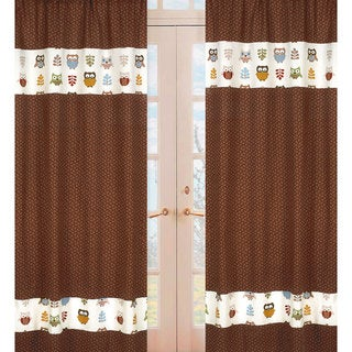 Night Owl Window 84-inch Curtain Panel Pair