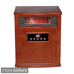 American Comfort Titanium 1000-square-foot Solid Wood Portable Infrared Heater and Air Purifier