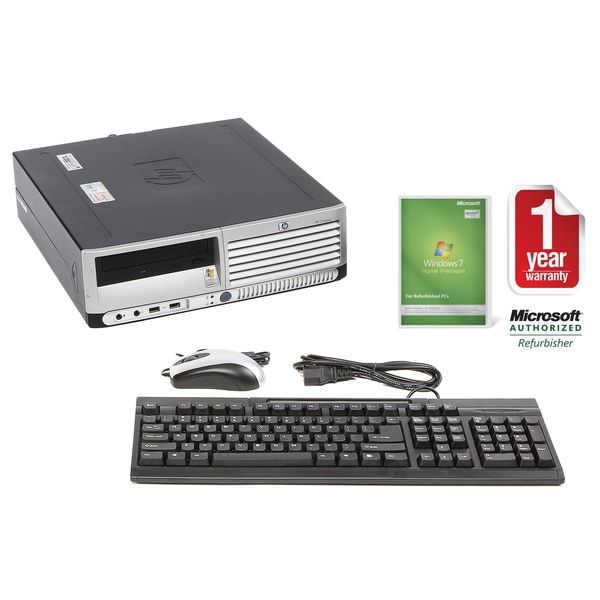 HP DC7600 Pentium D 2.8GHz 2GB 80GB SFF Computer (Refurbished)