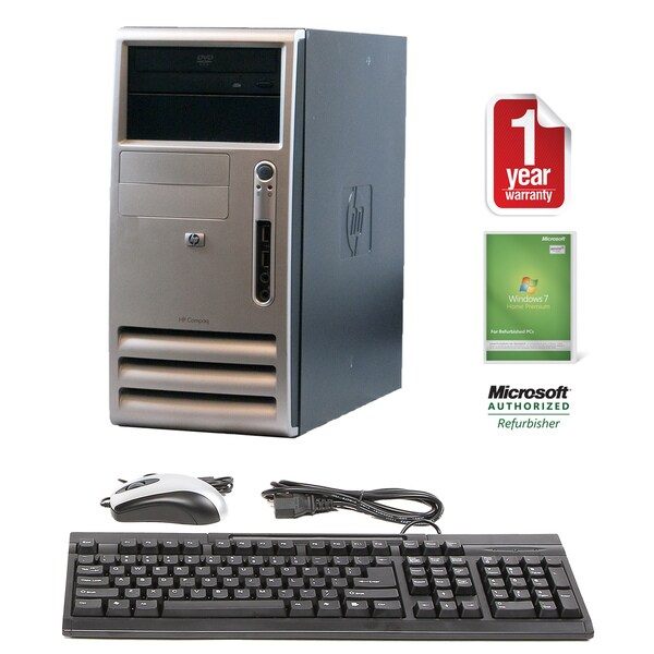 HP DC5100 3.2GHz 2GB 160GB DVDRW MT Computer (Refurbished)