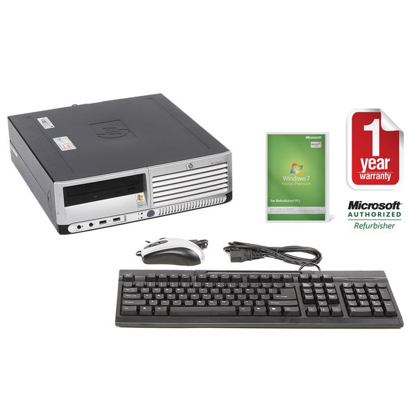 HP DC5100 3.4GHz 2GB 160GB SFF Computer (Refurbished)