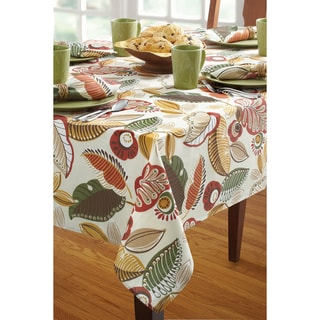 Benson Mills Capri Natural Indoor/ Outdoor Tablecloth