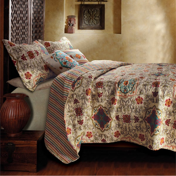 Greenland Home Fashions Esprit Spice Bonus 5-piece Quilt Set