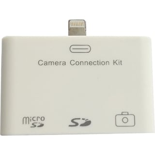 4XEM Lightning Camera Connection & Card Reader Kit For iPad/iPad Mini