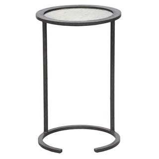 Landon Mirror Top Side Table