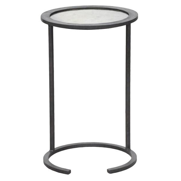 Landon Mirror Top Side Table