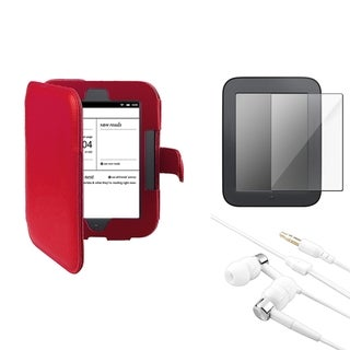 BasAcc Case/ Protector/ Headset for Barnes & Noble Nook Simple Touch