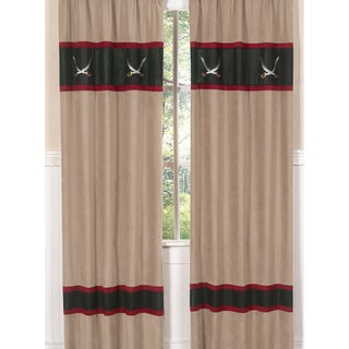 Treasure Cove Pirate 84-inch Curtain Panel Pair