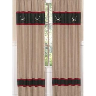 Treasure Cove Pirate 84-inch Curtain Panel Pair