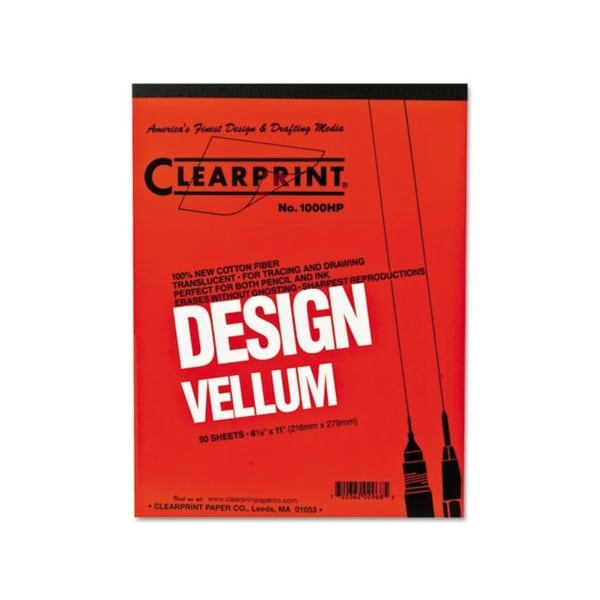 ClearPrint Design Vellum Paper Pad (50 Sheets)