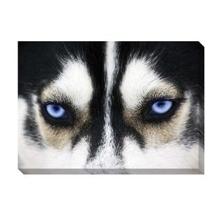 Blue Eyes Oversized Gallery Wrapped Canvas