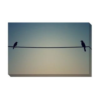 Gallery Direct Two Birds of a Feather Oversized Gallery Wrapped Canvas